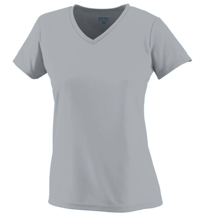 CH Ladies Wicking T-Shirt - Silver Grey