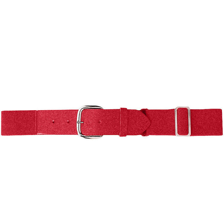 REQUIRED MUCKS Casey RED ELASTIC BASEBALL BELT -YOUTH