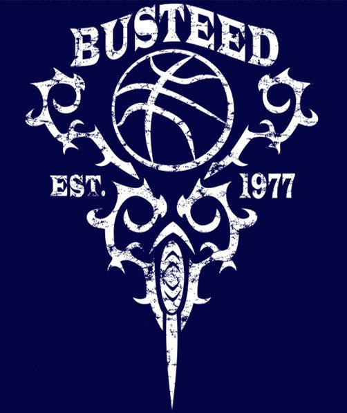 "Men's ""BUSTEED EST. 1977"" Training Ultra Light T-Shirt, Navy"
