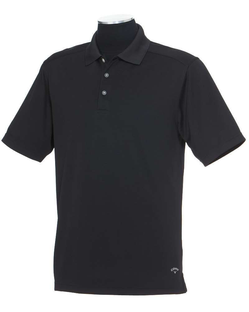 "Men's ""NOBLIS"" Embroidered Callaway 3 Button Textured Polo - Big & Tall Sizes Available"
