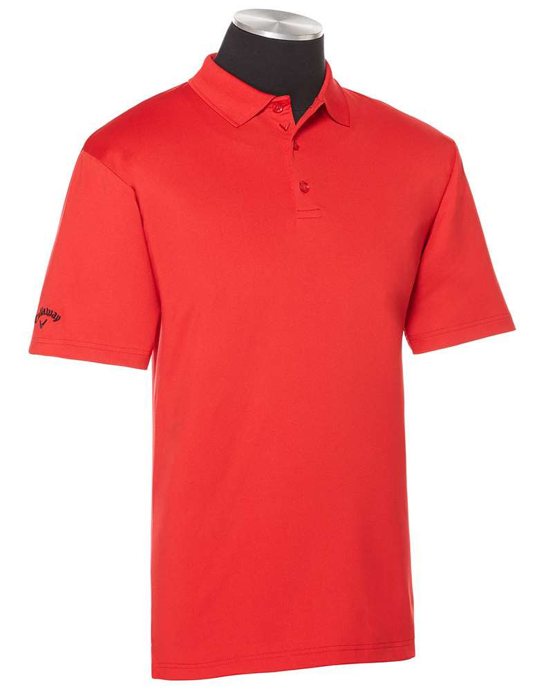 SSCC Men's Custom Embroidered Callaway Solid Opti-Dry Chev Polo