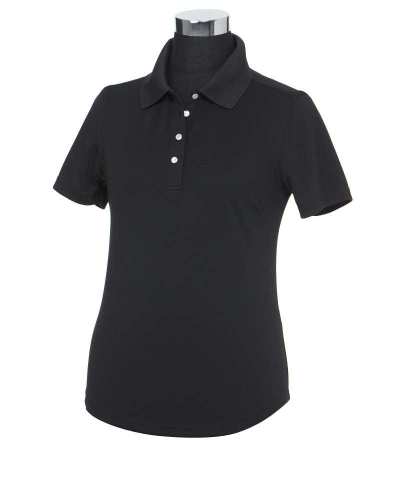 "Ladies ""NOBLIS"" Embroidered Callaway 3 Button Textured Polo"
