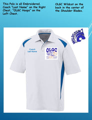 OLGC Custom Adult / Coaches Premier Sport Polo