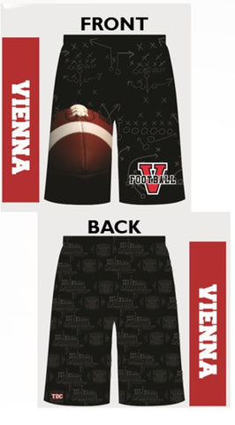 VIENNA FOOTBALL Custom Sublimated Shorts with Pockets