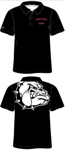 DAWGS Custom Sublimated Shift Polo - Black