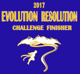 Alleson Ultra Light 2017 Evolution Resolution T-Shirt - Royal (AS,AM,AL)/ Charcoal AXL,A2XL