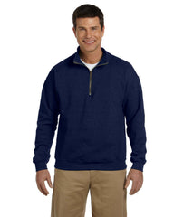 Gildan Heavy Blend 8.0 Ounce Adult Vintage Cadet Collar Sweatshirt - Navy