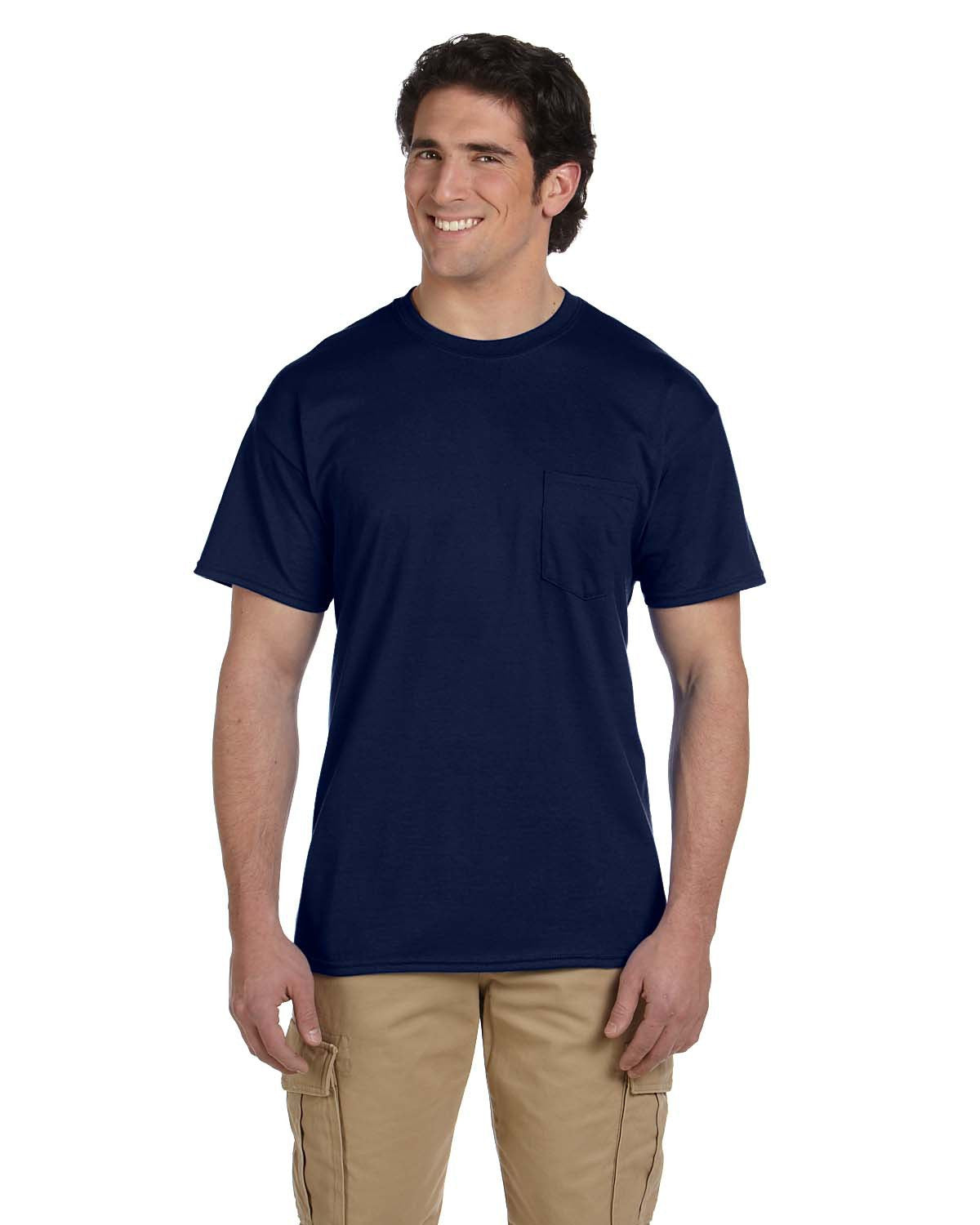 Northstar Gildan Adult DryBlend® 5.6 oz., 50/50 Pocket T-Shirt