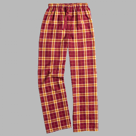 CH Garnet and Gold Flannel Pant