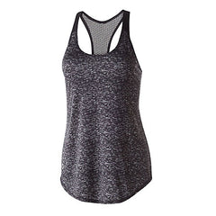 VAC Black Female Space Dye Tank - Youth and Ladies Sizes
