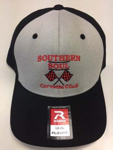 SSCC PRO COTTON Flexfit - Black/ Grey