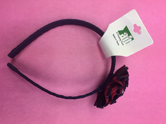 ACE Rosette Headband - Plaid 37