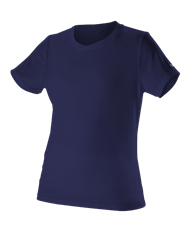 OPTIONAL Ladies SLAMMERS Short Sleeve  Ultra Light T-Shirt - Navy
