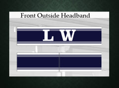 LW Custom Sublimated Headband