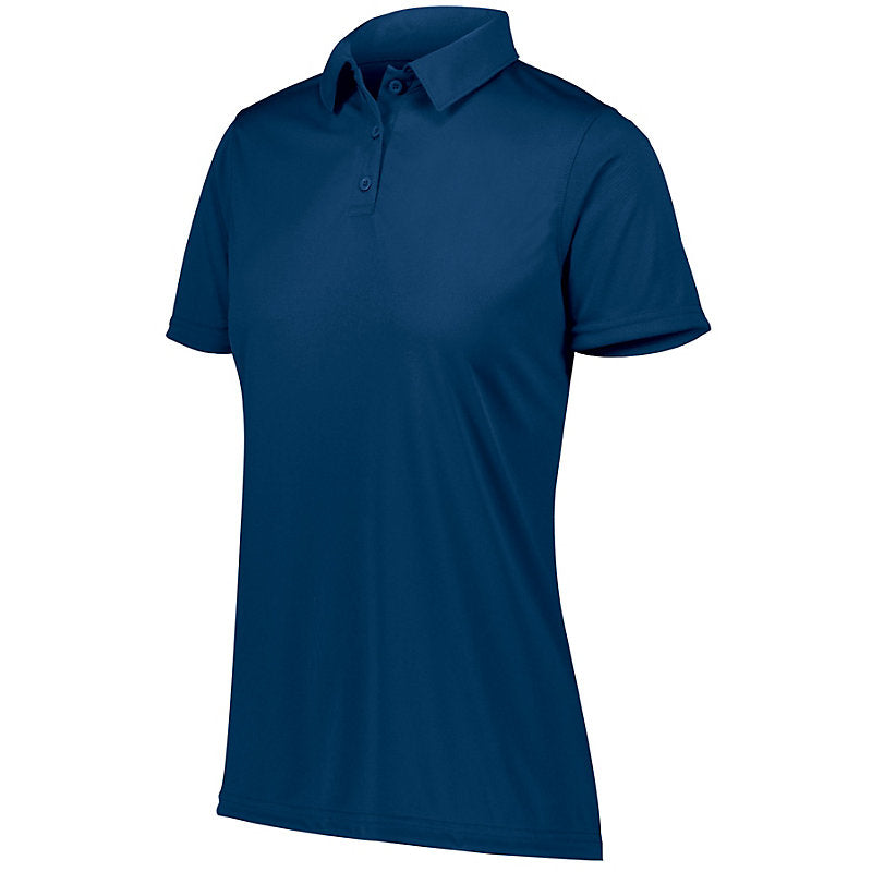 FEMA Embroidered Logo Navy Ladies Augusta Vital Performance Polo