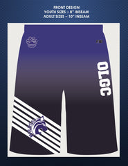 NEW OLGC Custom Sublimated Shorts with Pockets - Male