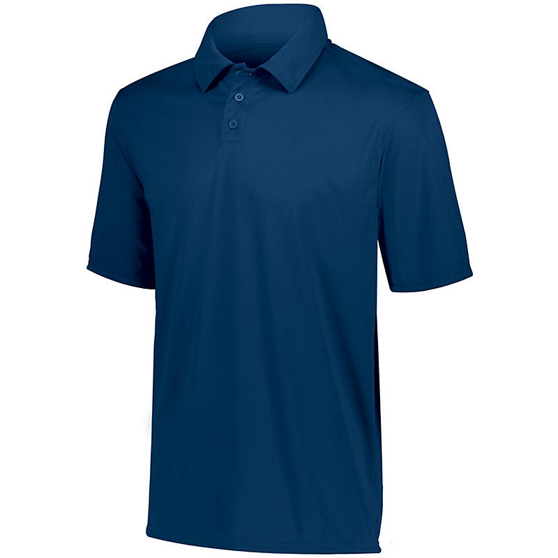 FEMA Embroidered Logo Navy Men's Augusta Vital Performance Polo