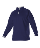 VIENNA LACROSSE Coach's Game Day Quarter Zip - Navy/ White