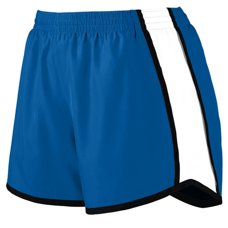 OLGC Track Girls Pulse Shorts - Royal/White
