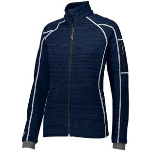 FEMA Embroidered Logo Navy Ladies Holloway Deviate Jacket