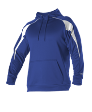 VLL Majors Dodgers OPTIONAL Game Day Hoodie - Royal/ White