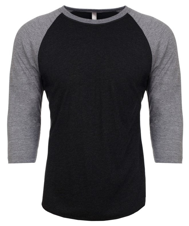 St. Timothy Faculty Raglan Shirts - Premium Vintage Black