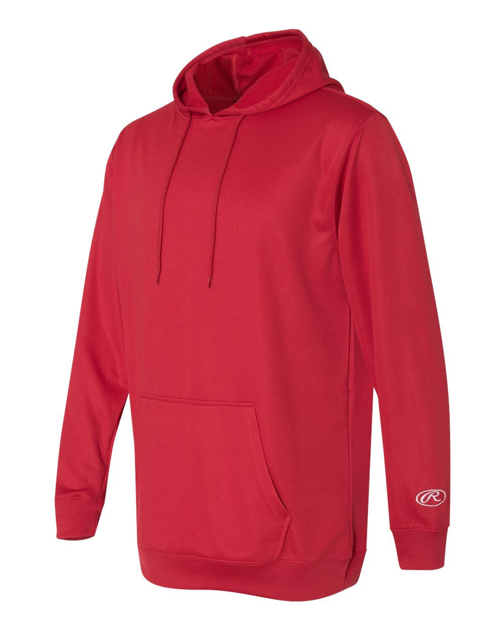 VLL Majors Twins - ADULT Rawlings Mesh Fleece Hooded Sweatshirt - Red