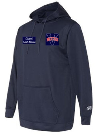 OPTIONAL MUCKS ADULT Rawlings Mesh Fleece Hooded Sweatshirt