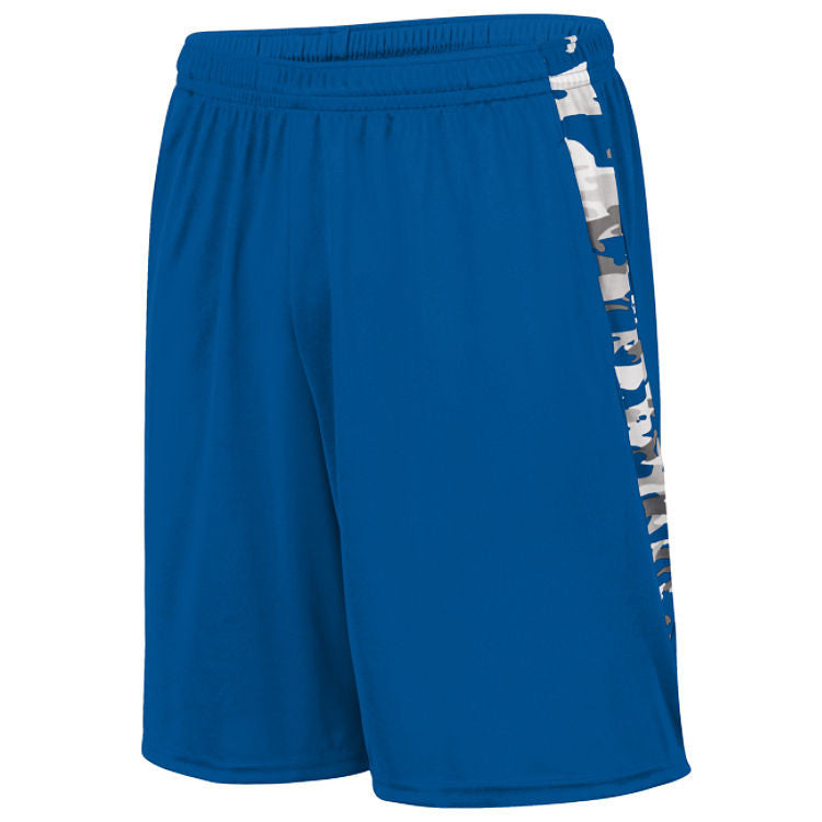 MOD CAMO TRAINING SHORT - YOUTH Royal