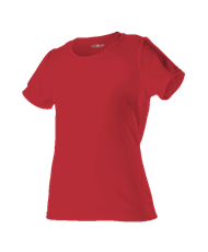 VLL Majors TWINS Red T-Shirts - Ladies