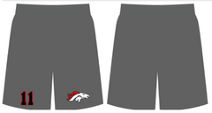 BRONCOS Player SWAG Shorts