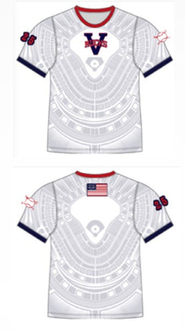 OPTIONAL MUCKS Custom Sublimated Stadium T-Shirt
