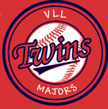 VLL Majors TWINS Red T-Shirts - Unisex