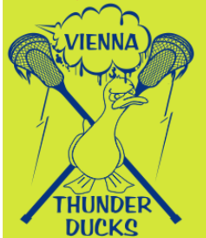 Vienna THUNDER DUCKS Lacrosse Tech Jersey - Electric Yellow