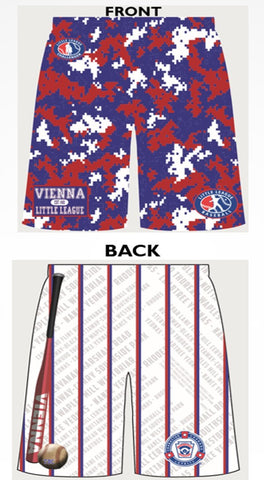VIENNA LITTLE LEAGUE Custom Shorts with Pockets