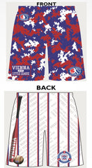 *SALE ITEM* VIENNA LITTLE LEAGUE Custom Shorts with Pockets