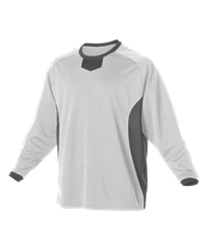 VLL Majors REBELS - REQUIRED Practice Pullover Jersey White/Charcoal