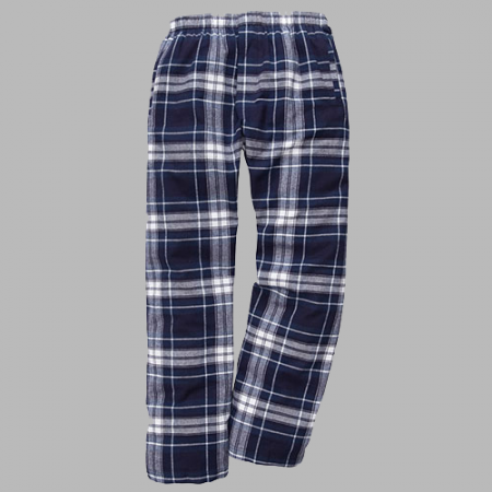 LW Classic Navy and White Flannel Pant - Navy White