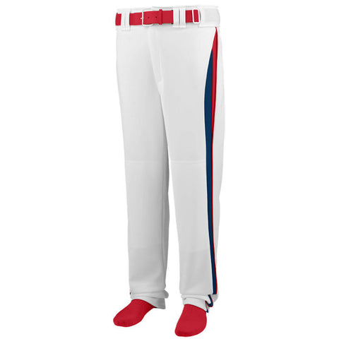 REQUIRED VIENNA MUCKDOGS LINE DRIVE BASEBALL PANTS - White/ Navy/ Red