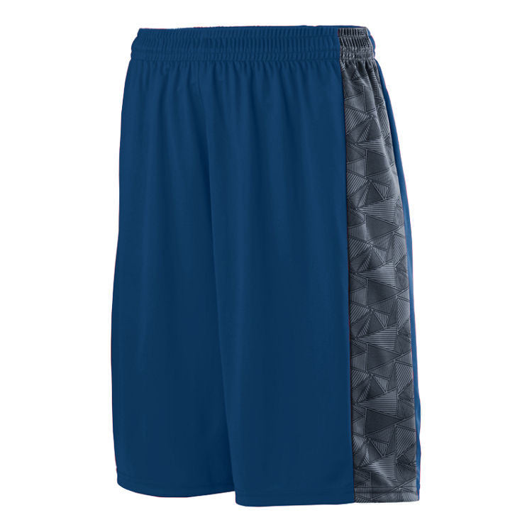 LW Fast Break Short - Navy/Graphite/ Black Print