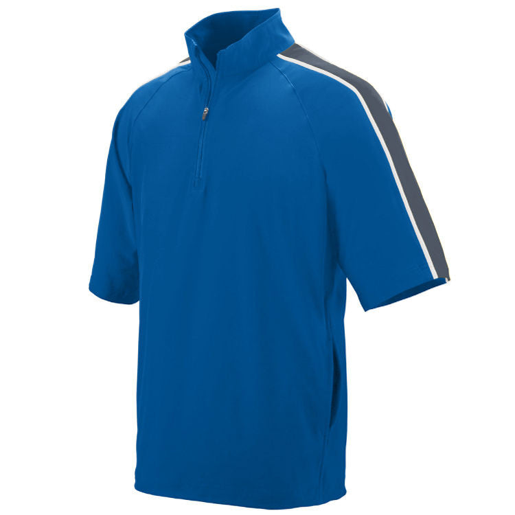 VLL Majors Dodgers OPTIONAL QUANTUM SHORT SLEEVE PULLOVER - All Sizes Royal/ Graphite/ White