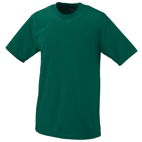 "Youth S/S Dark Green ""LORIEN WOOD"" Monogrammed Athletic T-Shirt"