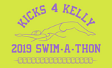 2019 Kelly Swim-A-Thon, Custom Lime Green S/S T-Shirt