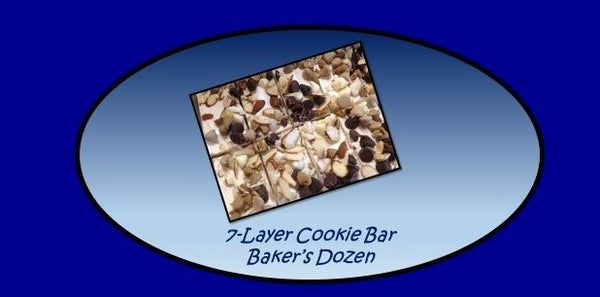 7-Layer Cookie Artisan Granola Bar Baker's Dozen