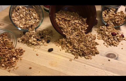 Cran-Orange Walnut Amish-Style Granola 5-Pound