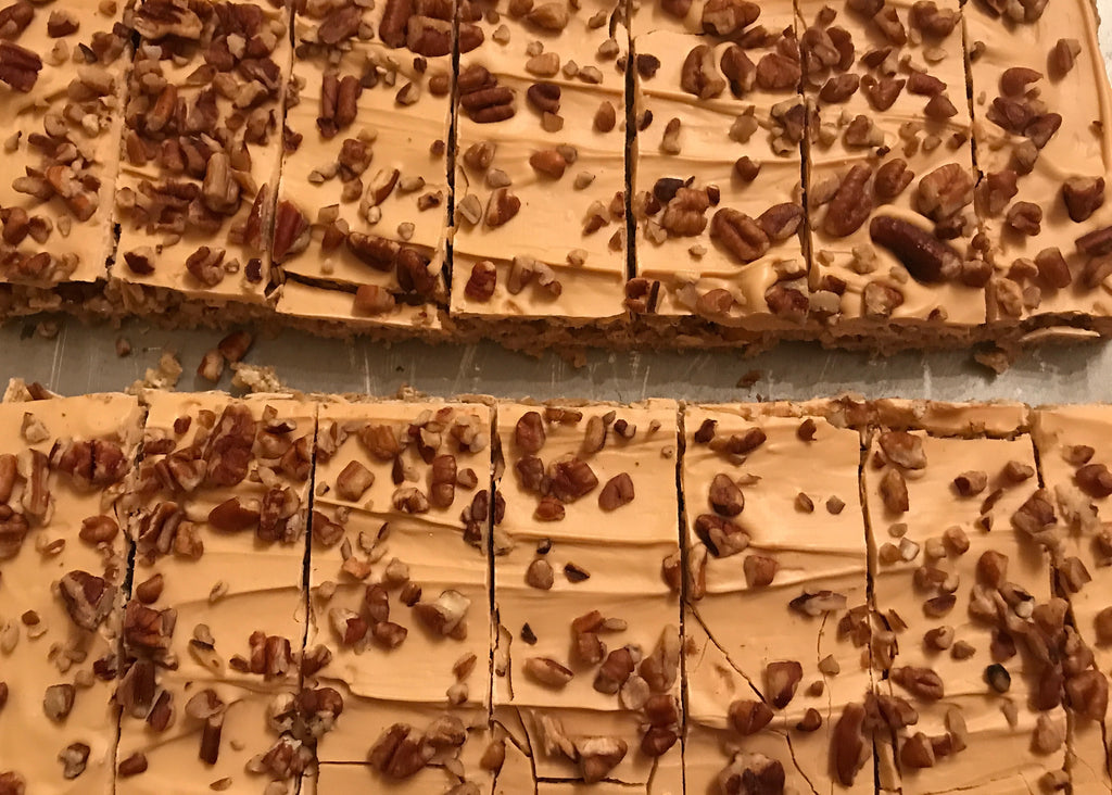 Butterscotch Pecan Blondies Bar Baker's Dozen