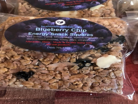 Blueberry White Chip Energy Bar 6-Pack
