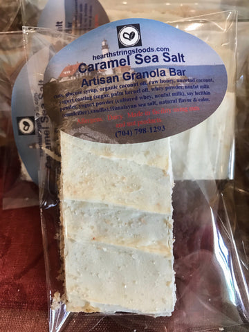 Caramel Sea Salt Gourmet Granola Bar 6-pack