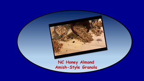 NC Honey Almond Crunch Amish-Style Granola 1-Pound