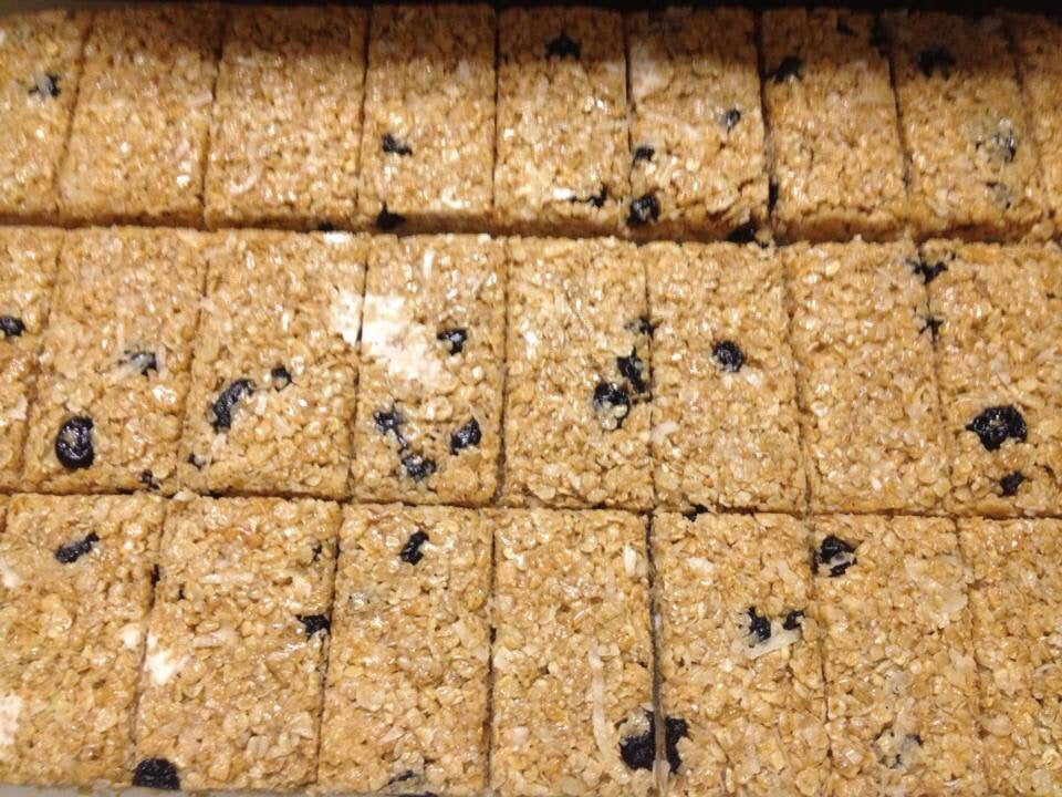 Blueberry White Chip Energy Square Baker's Dozen